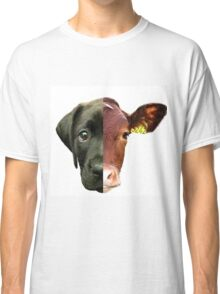 Animal Equality- dog and cow (sorry for the bad quality) Classic T-Shirt