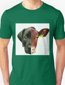 Animal Equality- dog and cow (sorry for the bad quality) Unisex T-Shirt