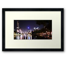Down By The Yarra Framed Print