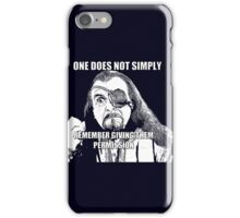 Simply Remember iPhone Case/Skin