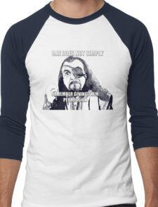 Simply Remember Men's Baseball ¾ T-Shirt