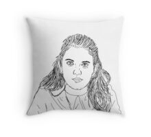 Suzy - Moonrise Kingdom  Throw Pillow