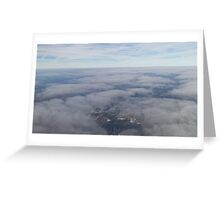 A View From Above Greeting Card