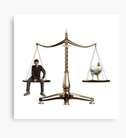 Animal Equality- Scale Canvas Print