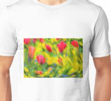 Pastel Summer Flowers  Unisex T-Shirt