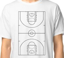 Basketball Court Classic T-Shirt