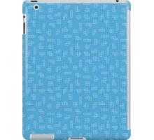 Blue Tetris iPad Case/Skin