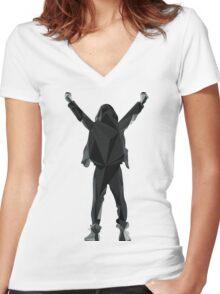 Success, Mr. Robot! Women's Fitted V-Neck T-Shirt