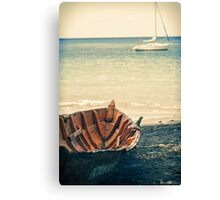 Boat and Yacht Canvas Print