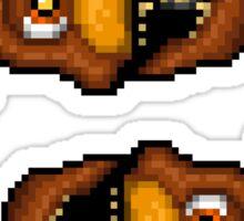 Adventure Nightmare Freddy - FNAF World - Pixel Art Sticker