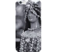 virgin Mary in Black and White iPhone Case/Skin
