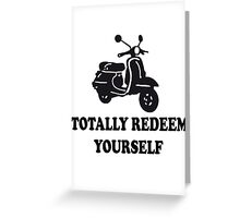 Dumb And Dumber Quote Greeting Card