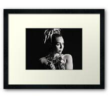Miley Cyrus SNL Photoshoot  Framed Print