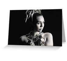 Miley Cyrus SNL Photoshoot  Greeting Card
