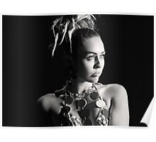 Miley Cyrus SNL Photoshoot  Poster