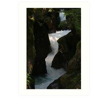 Avalanche Gorge Art Print