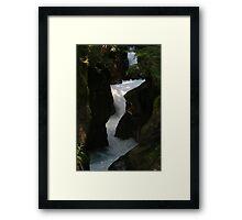 Avalanche Gorge Framed Print