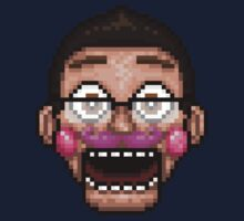 Markiplier Animatronic - Five Nights at Candy's - Pixel art One Piece - Long Sleeve