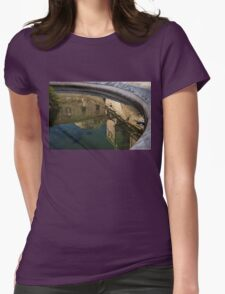 Reflecting on Noto and Its Beautiful Sicilian Baroque Architecture Womens Fitted T-Shirt