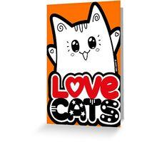 Love Cats - Neko Yoko Cat Greeting Card