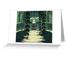 Midnight Marsh Greeting Card