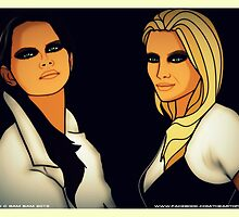 Malin & Jenny by DiscordCBamBam