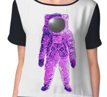 Purple Suit Chiffon Top