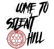 Come To Silent Hill Photographic Print
