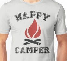 HAPPY CAMPER CAMPING Unisex T-Shirt