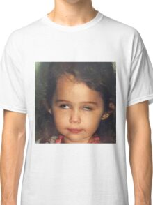 Miley Cyrus as a Baby Classic T-Shirt