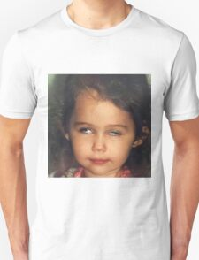 Miley Cyrus as a Baby Unisex T-Shirt