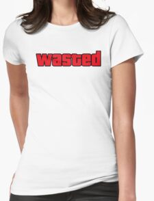 Wasted Womens Fitted T-Shirt