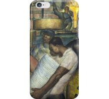 Hard Labor - Charles Wells Mural - The New Deal iPhone Case/Skin