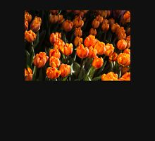 Flame Colored Tulips - Enjoying the Beauty of Spring Womens Fitted T-Shirt