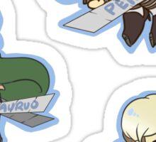 SnK Petra, Auruo, Mike Sticker