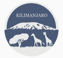 Kilimanjaro (Blue) One Piece - Short Sleeve
