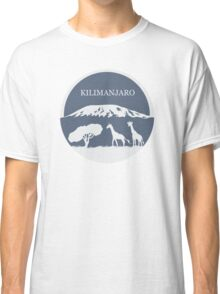 Kilimanjaro (Blue) Classic T-Shirt