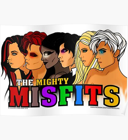 The Mighty Misfits 2016 Poster