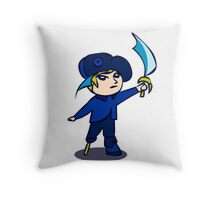Chibi Pirate Throw Pillow