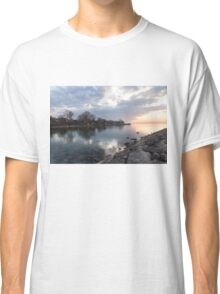 Limpid - Crystal Clear Peaceful Waterfront Sunrise Classic T-Shirt