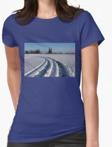 The Long Way Around Womens Fitted T-Shirt
