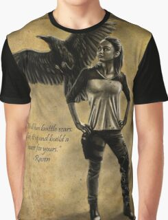 Raven Stay Strong 2 Graphic T-Shirt