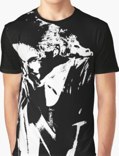 Line Drag Bones Graphic T-Shirt