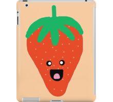 Cute Strawberry iPad Case/Skin