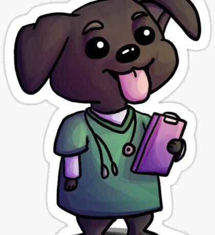Nurse Lab Sticker