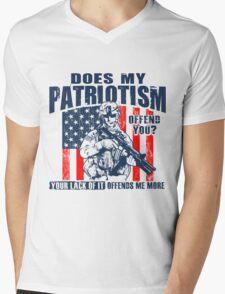 Patriotism Mens V-Neck T-Shirt