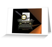 Agatha Christie Knows Whodunnit! Greeting Card