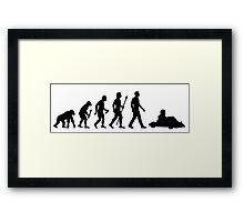 Go Kart Evolution  Framed Print