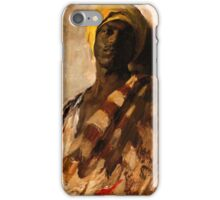 vintage art, Study for Guard of the Harem from 1879 iPhone Case/Skin