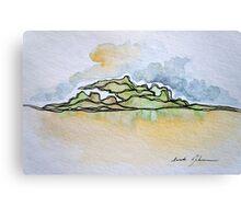 Watercolor Landscape I Canvas Print